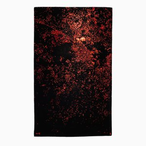 Tapis Foco Rojo Rug par Ariel Rojo