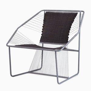 Fuchila Chair in Black & Gray by Marina Dragomirova