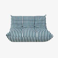 Vintage Togo Zweisitzer Sofa von Michel Ducaroy für Ligne Roset