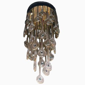 Vintage Chandelier by Lino Tagliapietra for La Murrina, 1972