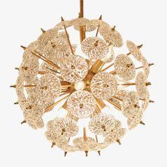Sputnik Chandelier Lamp by Emil Stenjar, 1960s