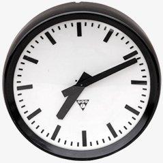 Reloj pequeño de baquelita de Pragotron
