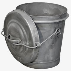Industrial Ash Bucket with Lid