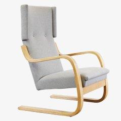 Poltrona Wingback di Alvar Aalto, anni '50
