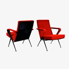 Repose Chairs par Friso Kramer pour De Cirkel, 1969, Set de 2
