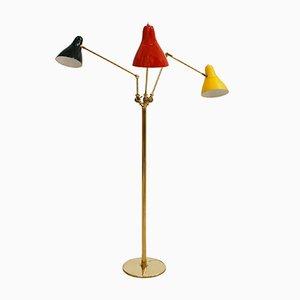 Stehlampe von Angelo Lelli, 1950er