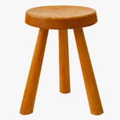 Tripod Stool by Charlotte Perriand, 1960s
