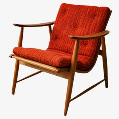 Armchair by Jacob Müller for Wohnilfe, 1950s