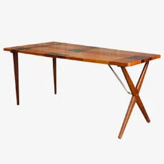 Vintage Coffee Table by Hans J. Wegner for Andreas Tuck, 1950s