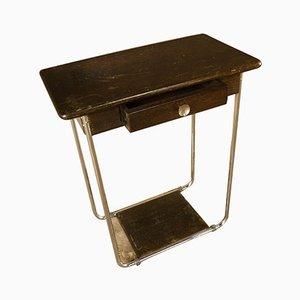 Mesa para fumadores vintage, años 30