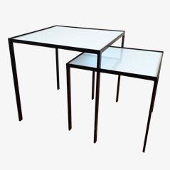 Tavolini a incastro di Floris Fiedeldij, anni '50, set di 2
