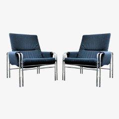 Italienischer Sessel, 1980er, 2er Set