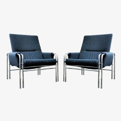 Memphis Italian Armchair, 1980s, Set of 2