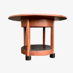 Oak Coffee Table by Willem Penaat for Metz & Co, 1930s