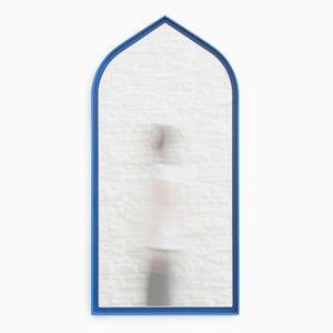 Espejos Panorami góticos en azul de Enrica Cavarzan. Juego de 3