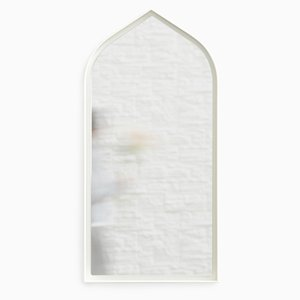 Gothic Panorami Mirror in White by Enrica Cavarzan, Set of 3