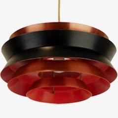 Lampe à Suspension par Carl Thore