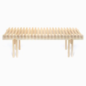 Heights Bench in Ash by Alban Le Henry