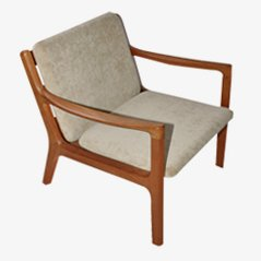 Senator Easy Chair by Ole Wanscher for Cado, 1950s