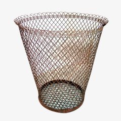 Industrial Trash Basket, 1950s