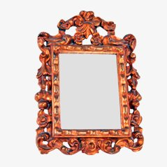 Baroque Style Golden Mirror