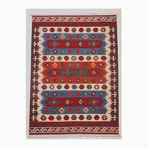 Handgefertigter Vintage Kelim Teppich