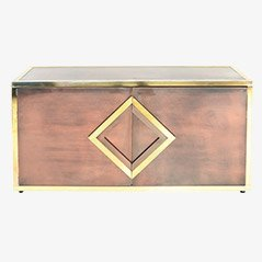Brass Sideboard by Maison Jansen, 1970s