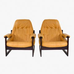 Sessel von Percifal Lafer, 1960er, 2er Set