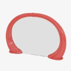 Lacquered Fiberglass Mirror, 1960s