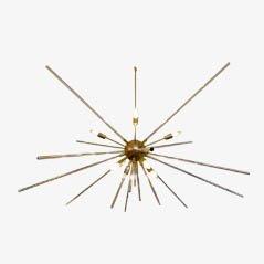 Vintage Italian Sputnik Chandelier