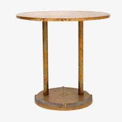 Table d'Appoint Vintage en Laiton par Peter Ghyczy, Danemark