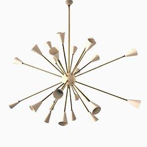Lámpara de techo Sputnik, años 60