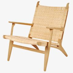 CH25 Easy Chair by Hans J. Wegner for Carl Hansen