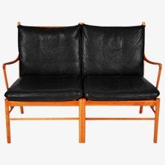 Canapé Deux Places Colonial par Ole Wanscher pour P.J. Furniture