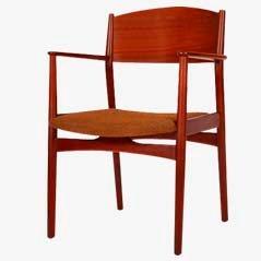 Vintage Armchair by Børge Mogensen for Søborg Møbelfabrik