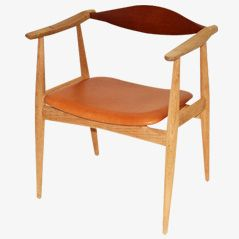 Vintage CH35 Armchair by Hans J. Wegner for Carl Hansen, 1960