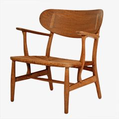 CH22 Stuhl von Hans J. Wegner für Carl Hansen & Son, 1951