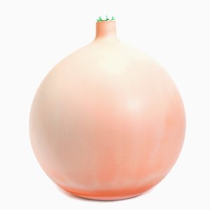 Hera Vase in Peach by Elyse Graham