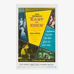 Vintage 'East of Eden' 'Jenseits von Eden' Filmposter, 1955