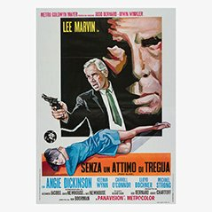 Vintage Point Blank Film Poster, 1967