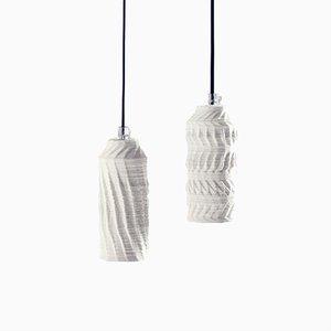 Paire de Lampes Deconstruction II par Hanieh Heidarabadi