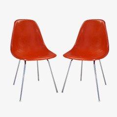 DSX Esszimmer Stuhl von Chalres & Ray Eames für Vitra, 1972