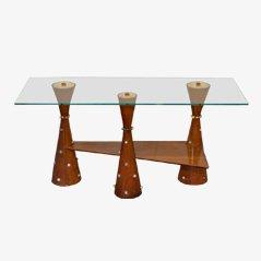 Table Basse Mid-Century par Mino Lusignoli, 1940s