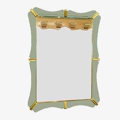 Großer Spiegel von Fontana Arte, 1940er