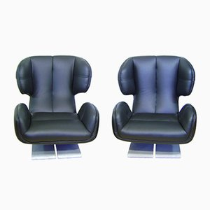Embassy Lounge Chairs by Zbynek Hrivnác, Set of 2