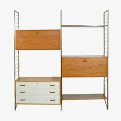 Mid Century Ladderax System by Robert Heal for Staples of Cricklewood