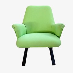 Mid-Century Green Armchair by Ico Parisi
