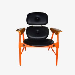 Orange Chair from Poltronova, 1970s