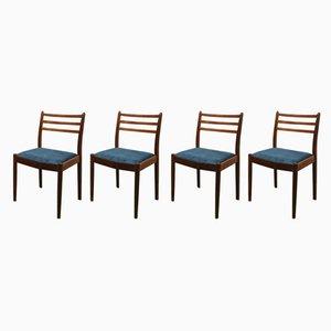 Vintage Esszimmerstühle aus Teak von Victor Wilkins für G-Plan, 4er Set