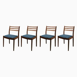 Vintage Teak Dining Chairs by Victor Wilkins for G-Plan, Set of 4